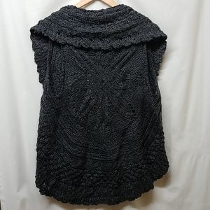 Romeo and Juliet Couture- Crocheted Sweater Vest
